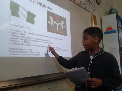Scott présente le Nigéria