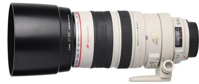 CANON EF 100-400 F/4,5-5,6 L IS USM (Equi. 24x36 : 160-640mm)