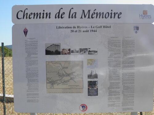 * 22 et 23 Août : cérémonies commémoratives de la Libération de HYERES et de la GARDE