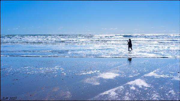 la Photographe qui marchait dans la Mer argentée !