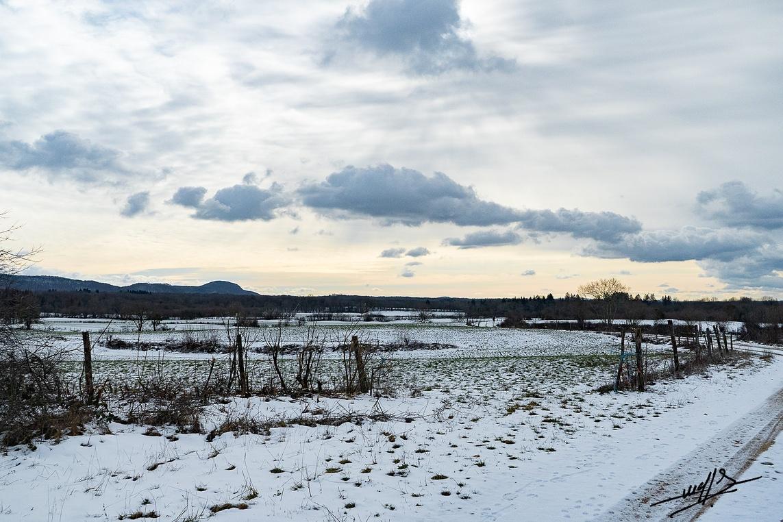 La neige est servie sur le premier plateau.