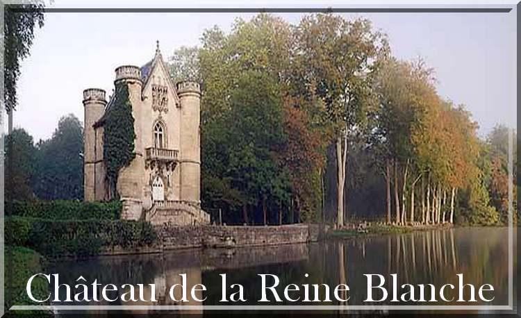 Château de la Dame Blanche et Etangs de Commelles à Cloyes la Forêt (Oise)