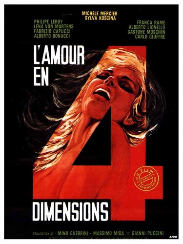 AMOUR EN 4 DIMENSIONS BOX OFFICE 1966