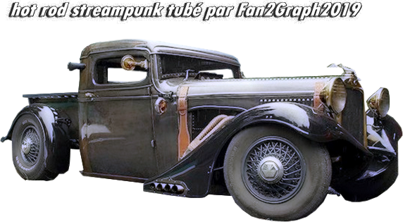 hot rod streampunk