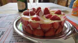 Blog de chacha : Les desserts de Chacha, Fraisier