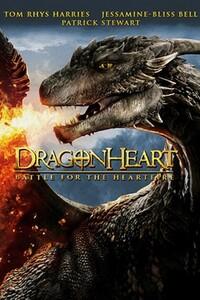Cœur de Dragon 4 : La Bataille du cœur de feu : Drago, qui partage son cœur avec le roi de Brittanie, doit trouver un héritier au trône à la mort du roi. Mais les héritiers potentiels, Edricand et Meghan utilisent leur force et leur pouvoir l'un contre l'autre pour se disputer le trône. Lorsque les Vikings remettent en cause les droits héritiers pour s'approprier le trône, leur rivalité doit cesser pour faire face à cette nouvelle menace… ----- ... Origine : américain  Réalisation : Patrik Syversen  Durée : 1h 38min  Acteur(s) : Patrick Stewart, Tom Rhys Harries, Jessamine-Bliss Bell   Genre : Fantastique  Date de sortie : 13 juin 2017  Année de production : 2017  Titre original : Dragonheart: Battle for the Heartfire  Critiques Spectateurs : 3.7 (senscritique)