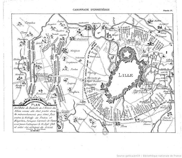 Siège de Lille en 1708