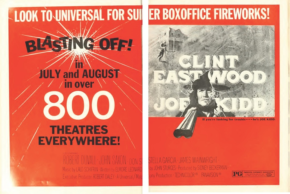 BOX OFFICE USA DU 13/07/1972 AU 19/07/1972