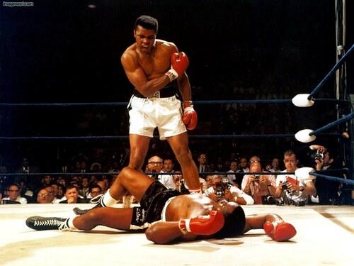 Muhammad Ali/Cassius Clay.