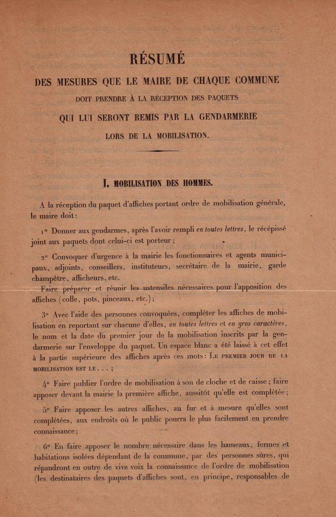 Instructions pour la mobilisation (1)