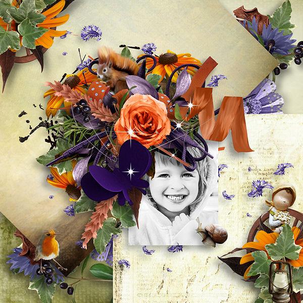 """Fall of my Childhood""de Xuxper Designs"