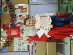 Guten Tag, ich bin der Nikolaus...