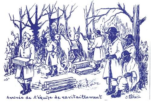 * 23 Janvier 1945 - la Traversée de l'Ill dans l'Illwald, par Jean COQUIL (BM5)