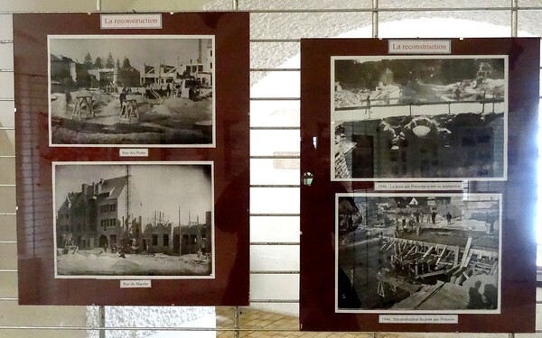 """Souvenirs d'une superbe exposition sur les bombardements du 15 juin 1940, qui ont fait de Châtillon sur Seine une """"Ville martyre"""""""