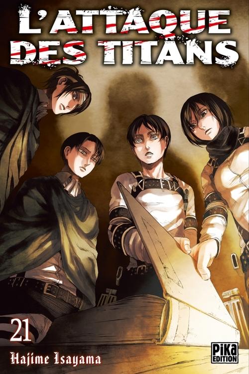L'attaque des titans - Tome 21 - Hajime Isayama