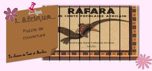 Rafara puzzle de couverture