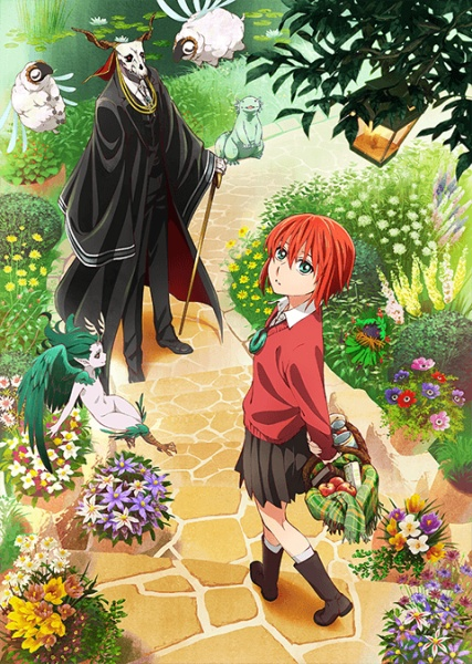 Anime The Ancient Magus Bride !