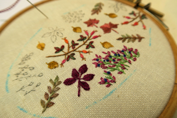 Sur le bord de ma table... l'automne