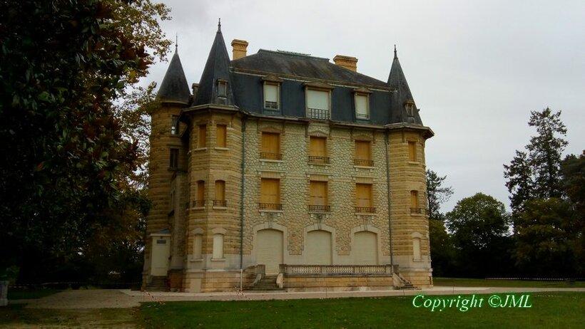 le Parc Chavat a Pondensac (Gironde)