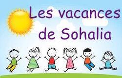 Les vacances de Sohalia (1)