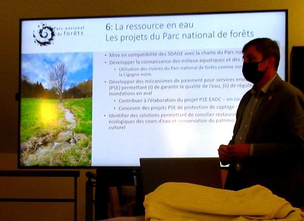 Les Amis du Musée du Pays Châtillonnais ont rencontré le nouveau Directeur du Parc National des Forêts