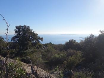 Les îles du Levant et de Port-Cros, le Cap Bénat