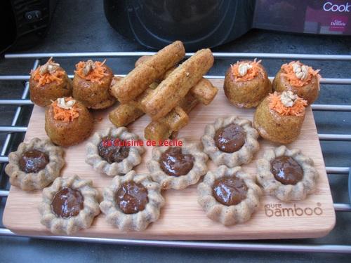 Carrot-Cakes aux raisins secs