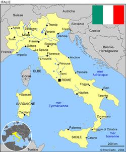 L'Italie par Mathieu