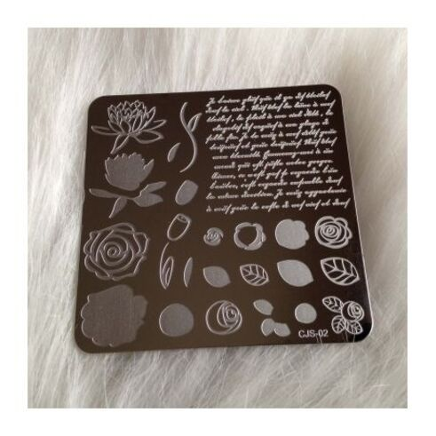Plaques Clear Jelly Stamper