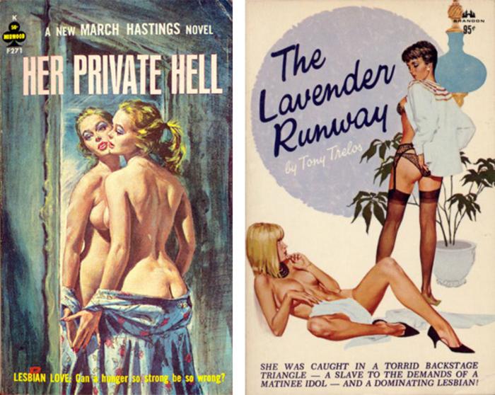Lesbian Pulp Novels