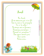 Poésies du printemps