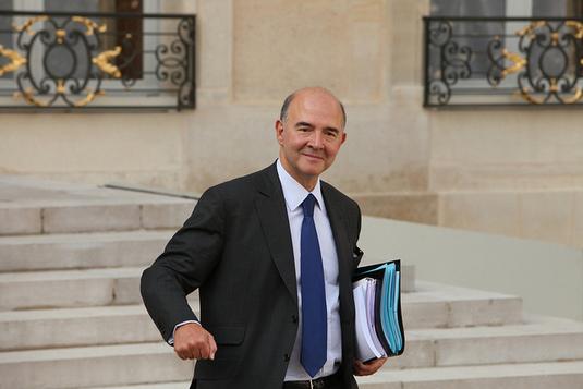 Pierre Moscovici: «La loi bancaire est un vrai projet de gauche»