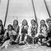 Jicarilla Apache group. 1898. Photo by F.A. Rinehart.