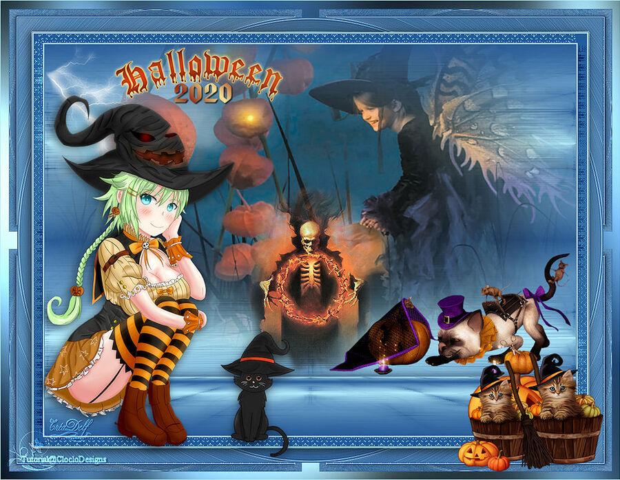Halloween 2020 De Cloclo