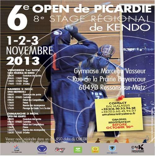 6ème Open de Picardie 2013