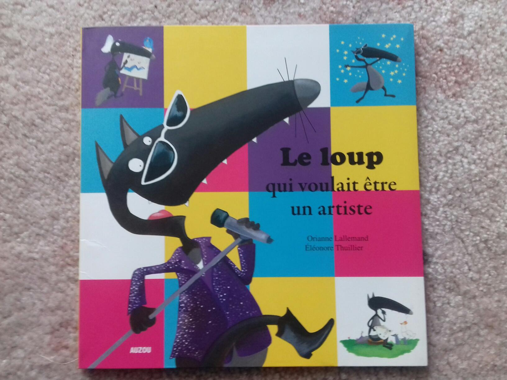 Mes p'tits albums Le Loup