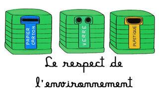 Les respect de l'environnement