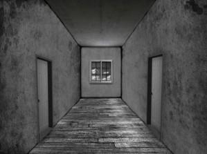Escape from corridor