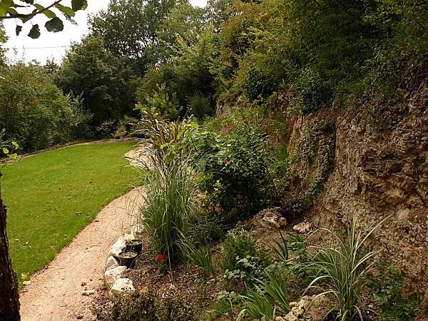 Descente jardin