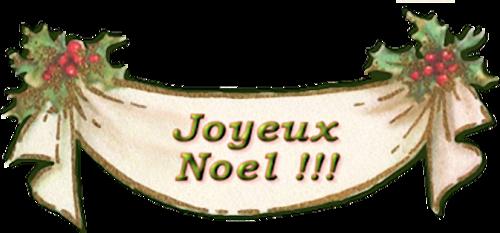 Mots de Noël Série 1