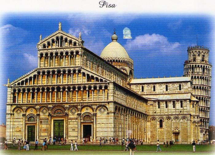 Italie: Cathedrale-de-Pise