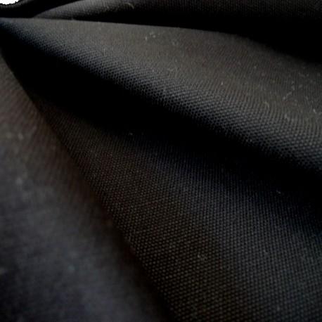 Tissu toile canevas noire