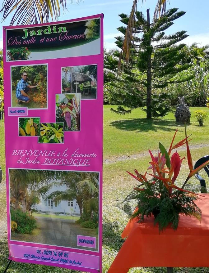 29/8/19 : Expo bien-être au jardin des 1001 saveurs à St-André (Réunion) - Le pitaya - Blagues diverses