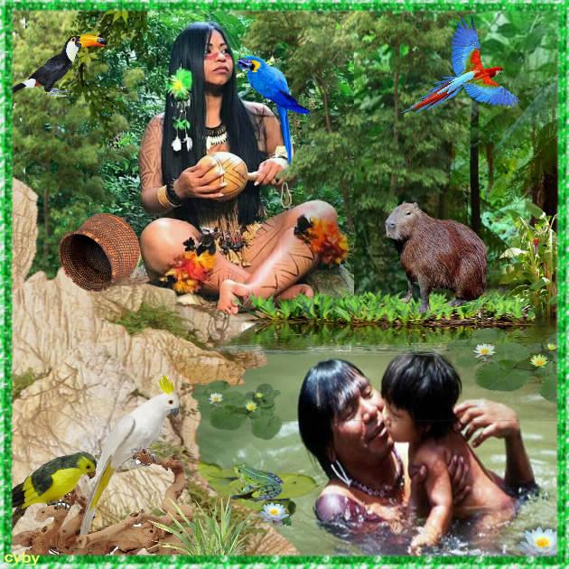 famille Guarani