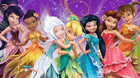 Coloriage Disney Fairies