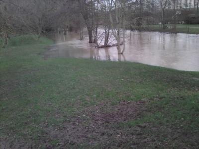 Les rivières débordent!