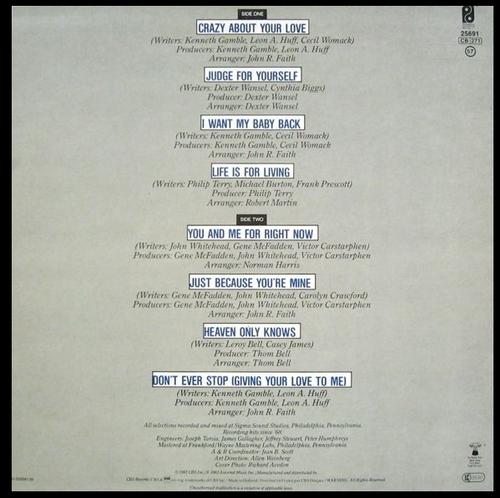 "1983 : Teddy Pendergrass : Album "" Heaven Only Knows "" Philadelphia International Records FZ 38646 [ US ]"