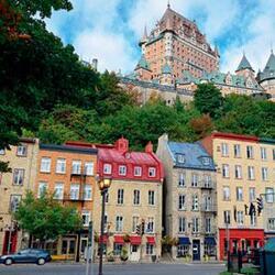 QUÉBEC. Québec.  (Voyages)