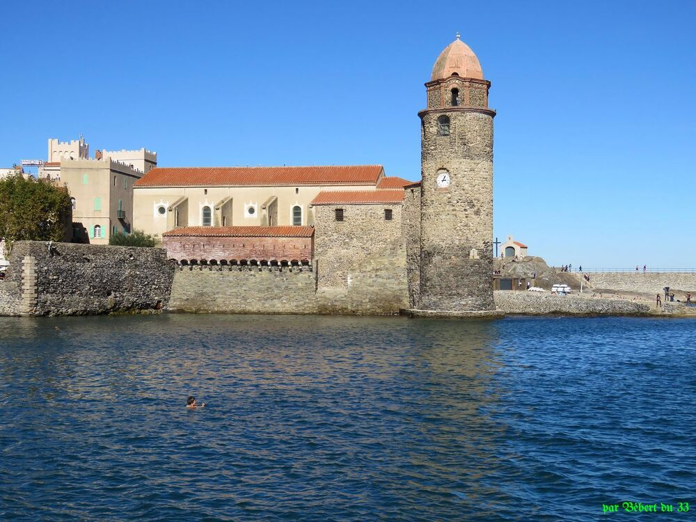 l'église de Collioure -2