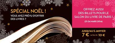 Salon du Livre : Offre spéciale